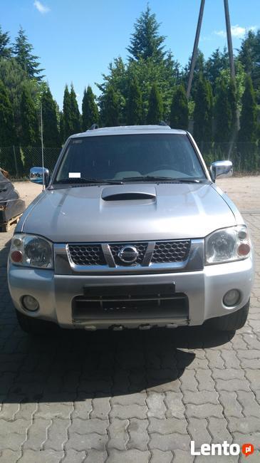 Wszystkie części Nissan Navara D22- stan b.dobry!