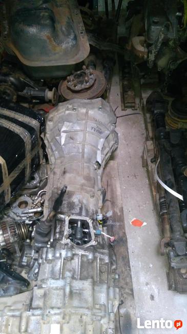 Skrzynia Navara 2.5 Diesel z reduktorem komplet