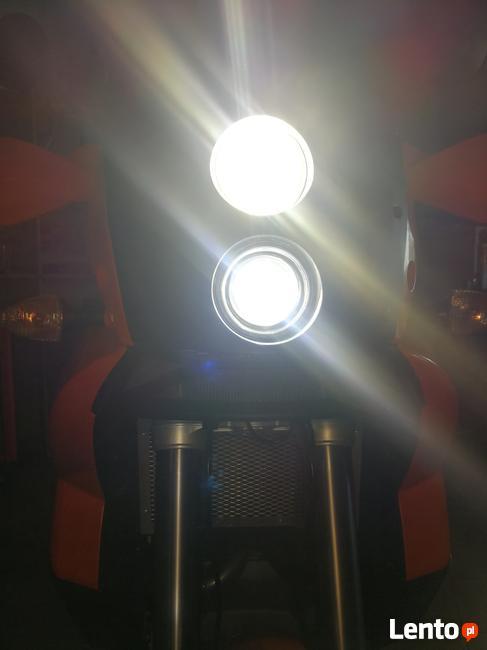 KTM 990 ADV Lampa tuning ksenon led przód