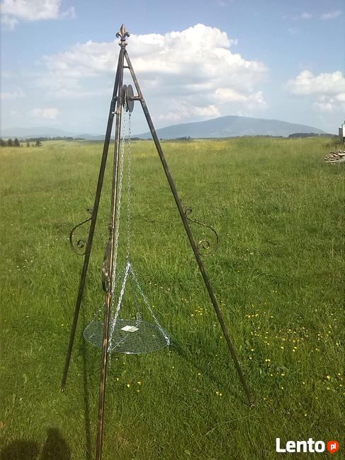 Grill trójnóg 230 cm regulowany