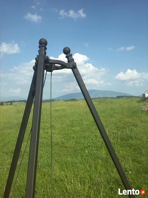 Grill trójnóg 215 cm regulowany