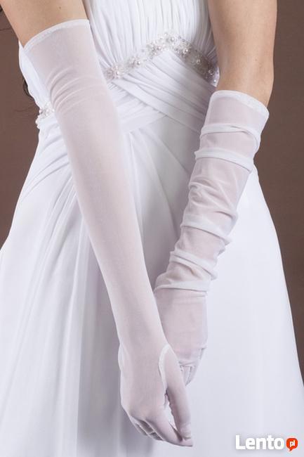 Rękawiczki ślubne koronkowe dla Panny Młodej lub klasyczne