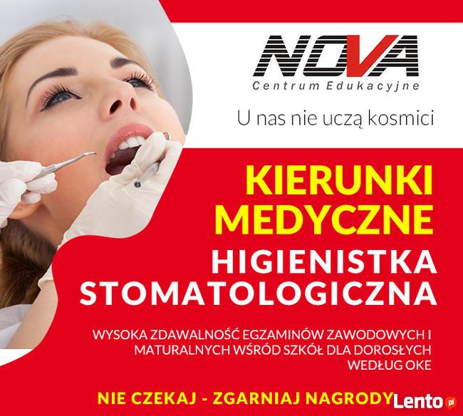 Higienistka stomatologiczna z ortodoncją i implantologi 0zł!