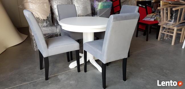Krzesło tapicerowane modne eleganckie wygodne Producent nowe