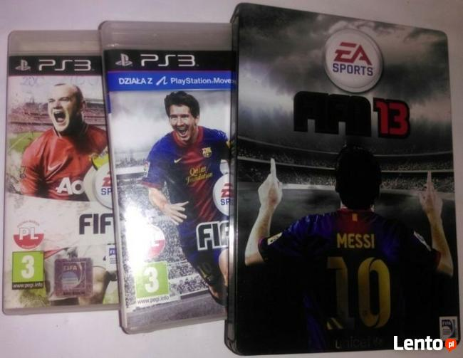 Oryginalna gra na PS 3 Fifa