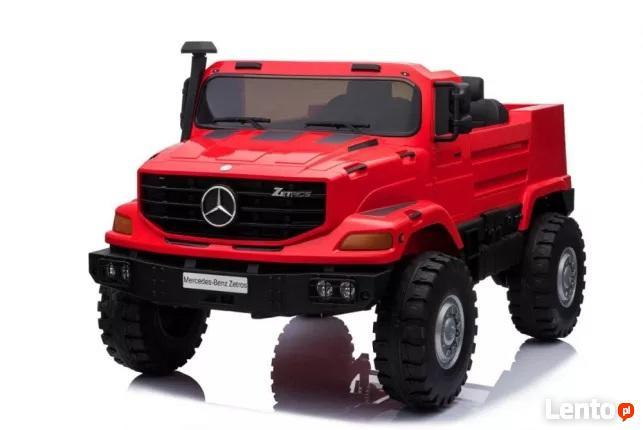 Pojazd dla dzieci na akumulator Czerwony dla dzieci budowa b