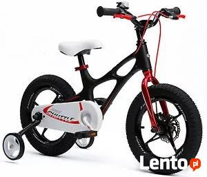 Rower aluminiowy18 dla dziecka wzr. 115-150 cm czynne 24h