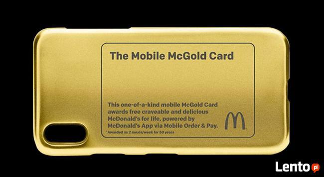 McDonalds, karta McGold