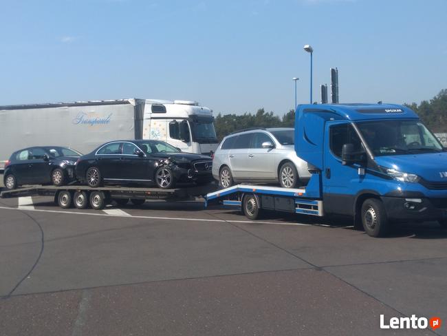 300 euro Transport Samochodu Holowanie Niemcy Holandia Belgi