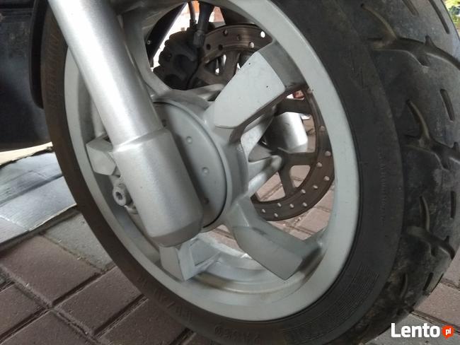 peugeot satelis 125 cm3 duży szybki skuter mały przebieg