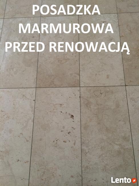 Renowacja posadzek-szlif, poler marmuru, granitu, lastriko
