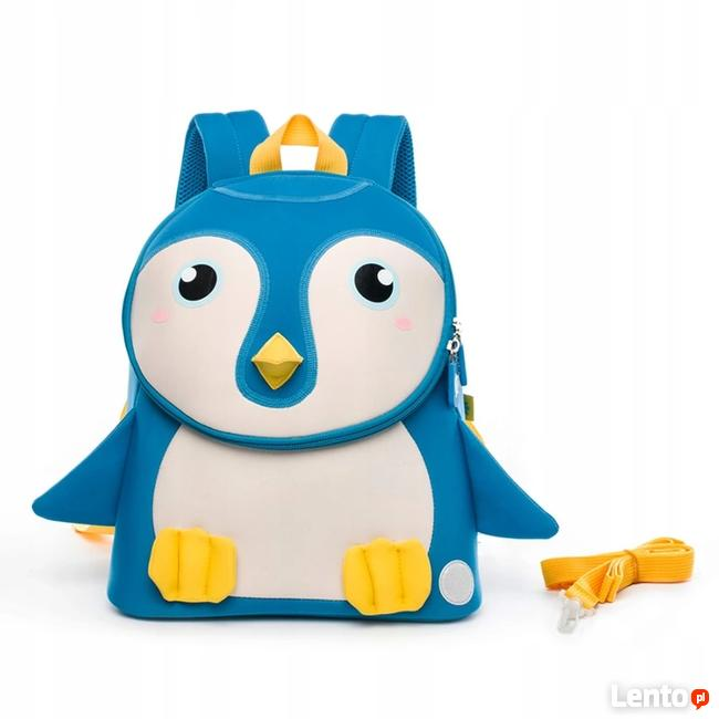 Plecak dla przedszkolaka - pingwinek
