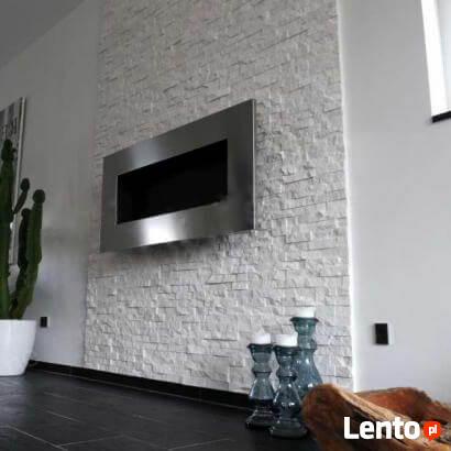 panel kamienny kwarcyt Stackstone White 36x10x0,8-1,3 cm