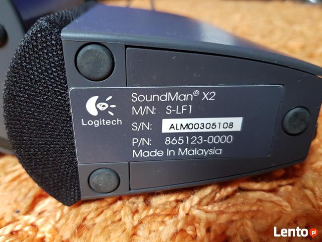 Głośniki 2.1 Logitech SoundMan X2