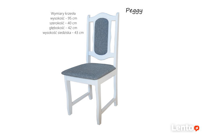 Stół |Aspen| i 6 krzeseł |Peggy|