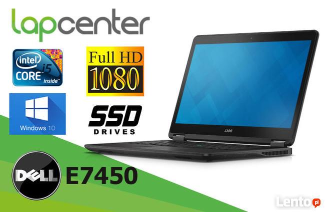 Dell Latitude E7450 I5-5gen 8GB RAM 128SSD W10- LapCenter.pl
