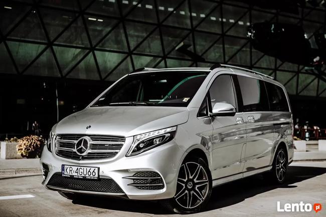 WYNAJEM Mercedes klasa V AMG 7 osobowa wersja long