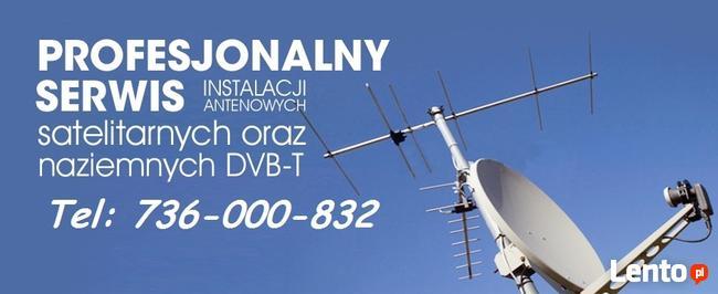 Montaż Serwis Naprawa ustawianie Anten Skarżysko-Kamienna