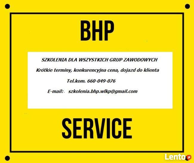 BHP - szkolenia dla pracodawców i pracowników