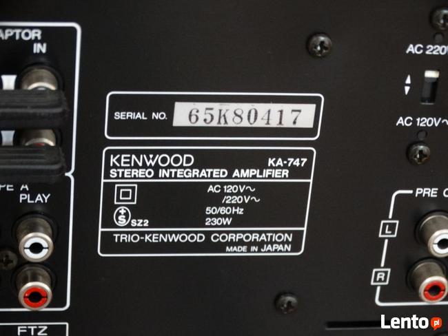 Podłącz wzmacniacz Kenwood