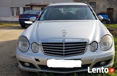 Mercedes E280 kombi 2007r po livcie uszkodzony silnik Okazja
