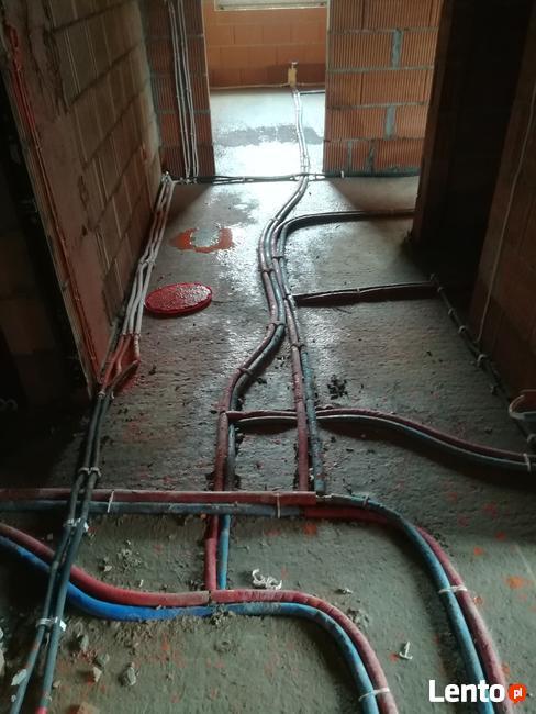 Hydraulik Instalacje centralne ogrzewanie pompy ciepła Rekup
