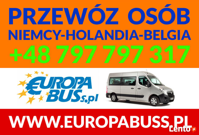 BUSY HOLANDIA ,BELGIA, NIEMCY
