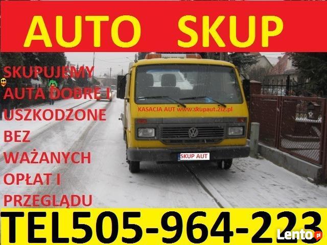 Skup Aut t.505964223 Wejherowo ZŁOMOWANIE Luzino, Gościcino