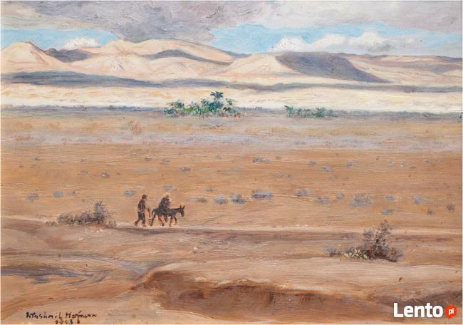 Wlastimil HOFMAN (1881-1970) Ucieczka do Egiptu