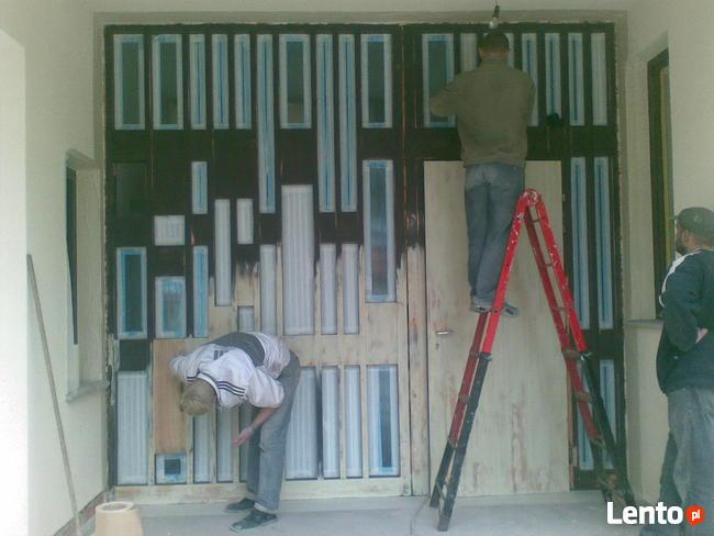 Renowacja, malowanie, naprawa okien i drzwi drewnianych