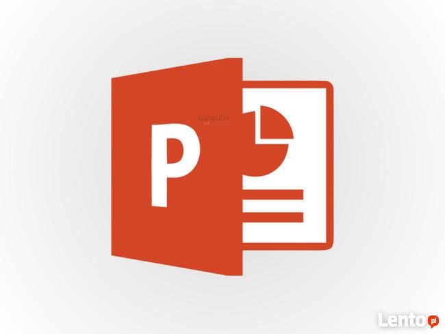 Wykonam tanio prezentację w PowerPoint!