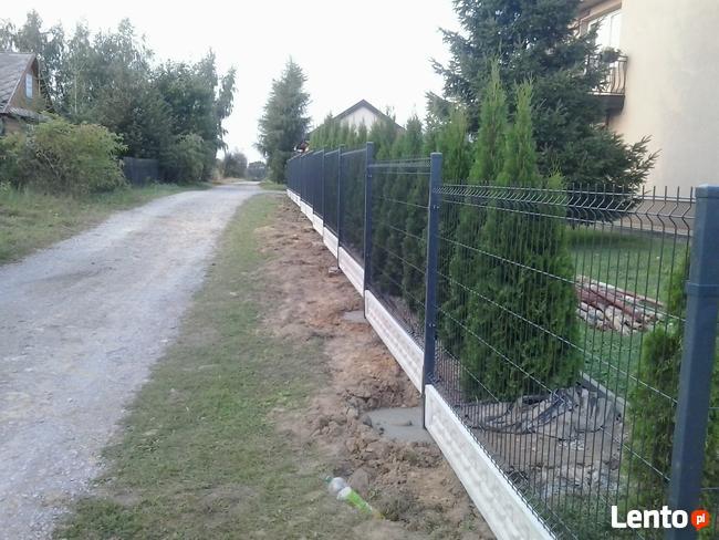 ogrodzenia montaż panelowe systemowe