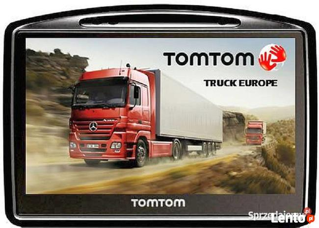 Mapy TomTom TRUCK EU 1070