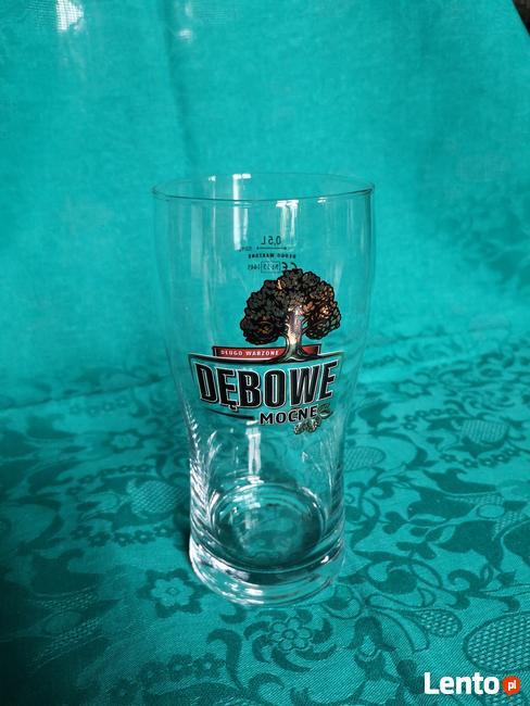 Szklanka/szklanki, kufle do piwa 0,5l DĘBOWE MOCNE