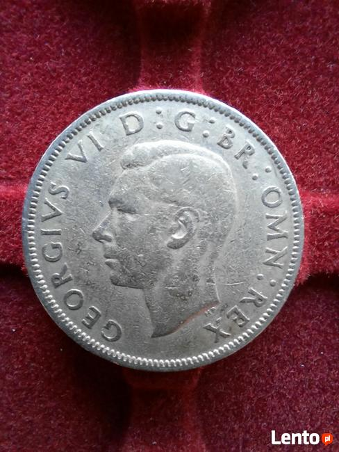 Two Shillings 1948 Great Britain Coin, George VI
