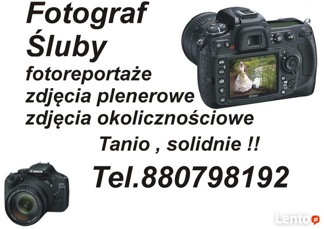 Kamerzysta, fotograf-wesela