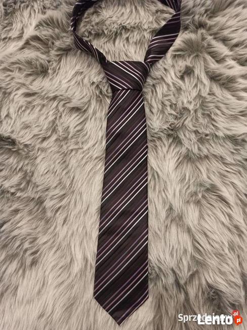 Krawat Giorgio Valention * Italy Mode * krawat męski czarny