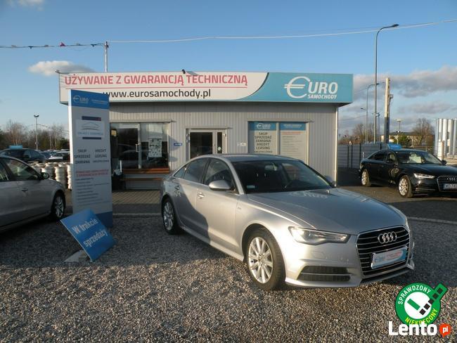 Audi A6 1.8TFSI SLine Gwarancja rok skóra automat