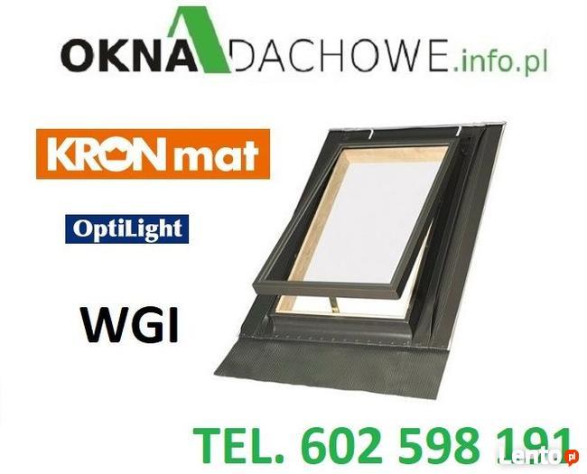 Wyłaz - okno - okna - dachowe - OptiLook 46x55 z kołnierzem