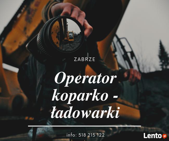 Operator koparki