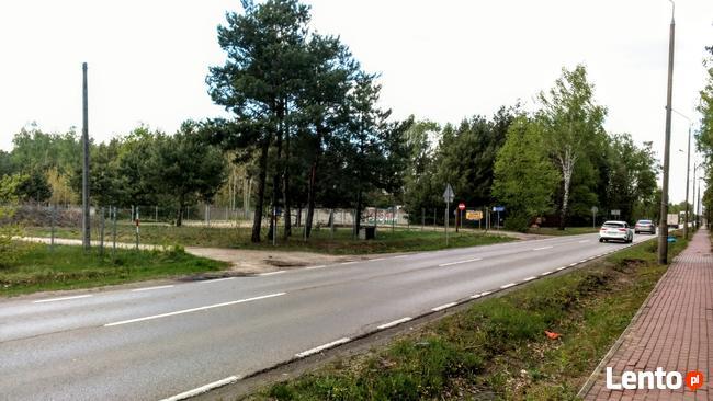 Wynajmę działkę 1500 m2 przy trasie Warszawa - Nieporęt