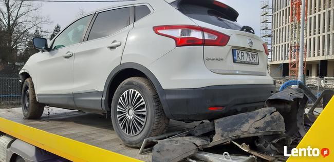 Sprzedam Nissan Qashqai Conect 1,6 benzyna 2016 uszkodzony