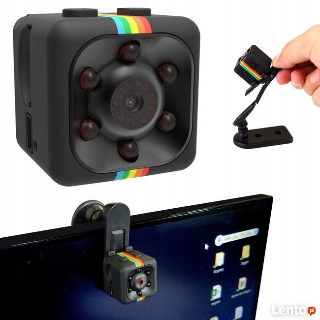 Mini Kamera Szpiegowska Internetowa Full HD Detekcja Ruchu