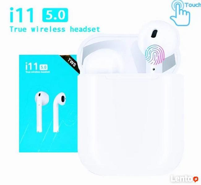Nowość! Bezprzewodowe słuchawki Samsung, IPhone, Huawei