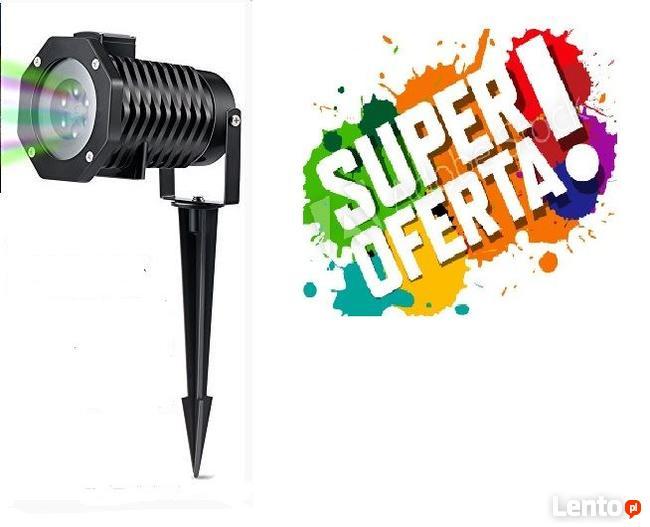 Projektor laserowy STAR SHOWER z wymiennymi kasetami 12 WZOR