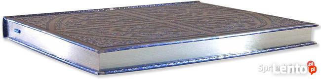 Wspaniały metalizowany notatnik Perski Splendor srebrzony
