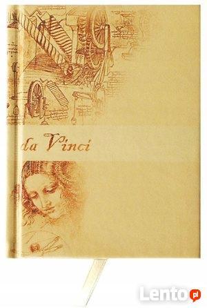Notes notatnik A6 w kratkę w ekoskórze Da Vinci