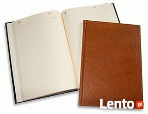 Notatnik A4 notes w linie w ekoskórze eleganckie notesy