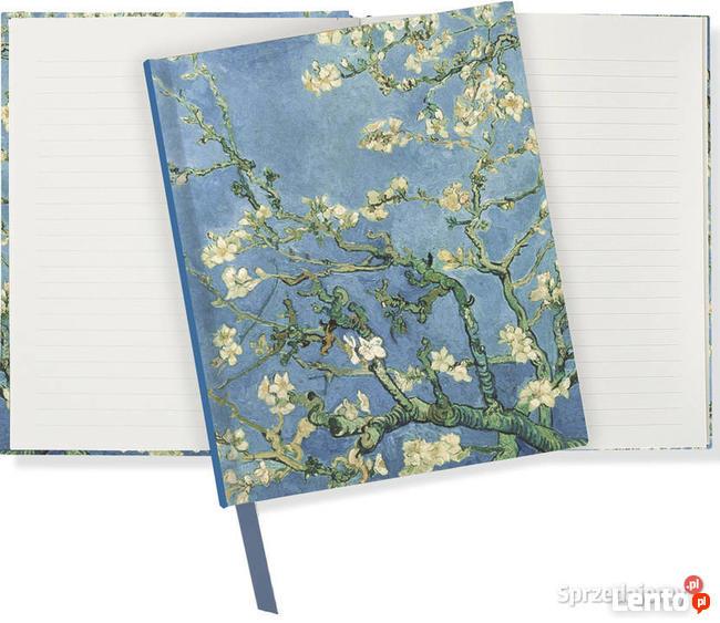 Van Gogh Kwitnące gałęzie migdałowca notatnik pamiętnik