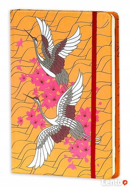 Notes Żuraw pamiętnik A5 notatnik w linie japonica